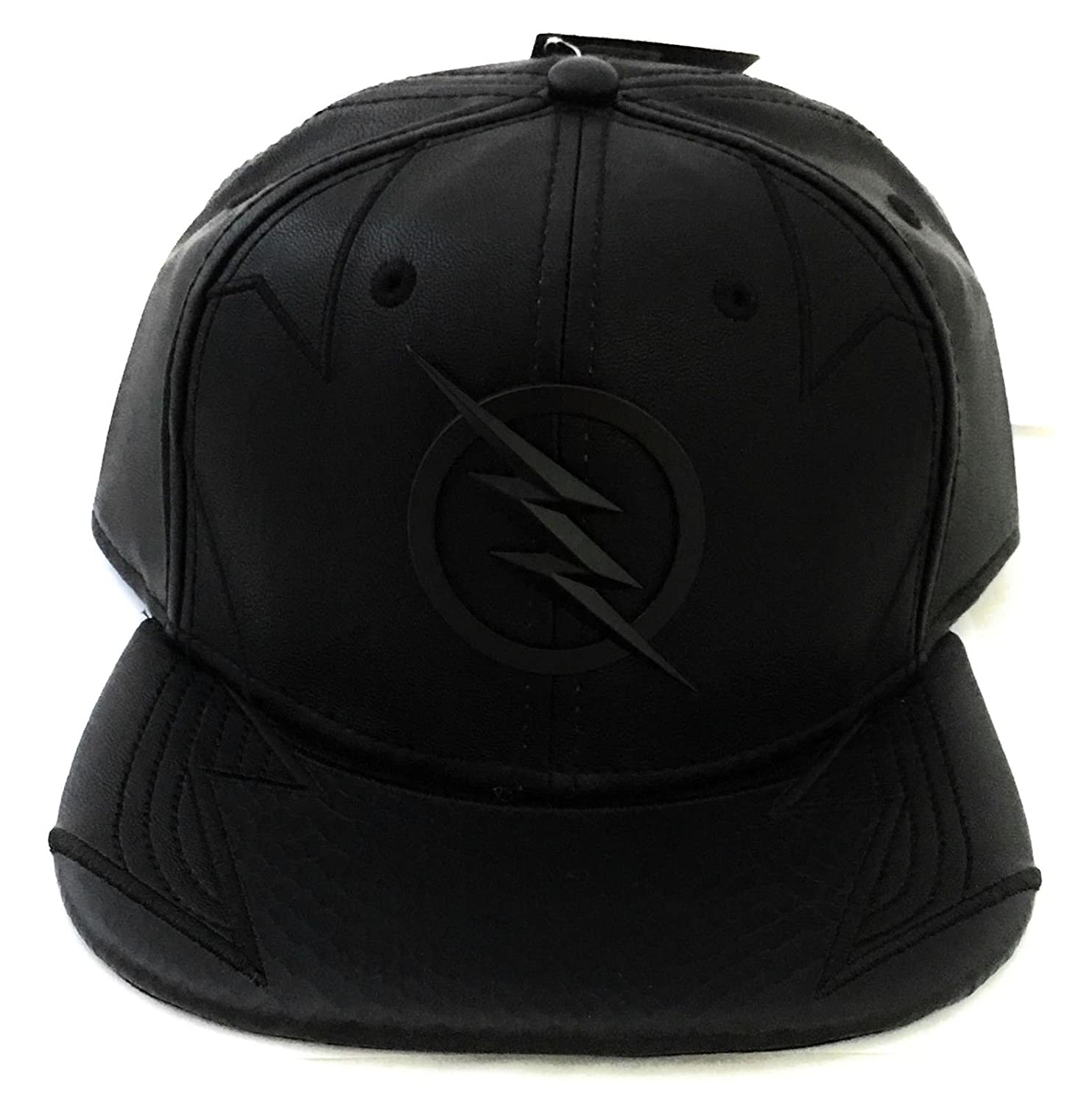 Amazon.com: DC Comics Flash- Zoom Faux Leather Snapback Hat- One Size: Jewelry