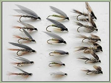 Hares Ear 8 CDC F Fly Fishing Flies Fly Fishing Mixed 14//16//18