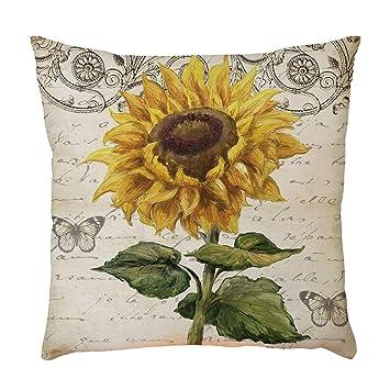 Amazon.com: Gocheaper - Funda de cojín para sofá, diseño de ...