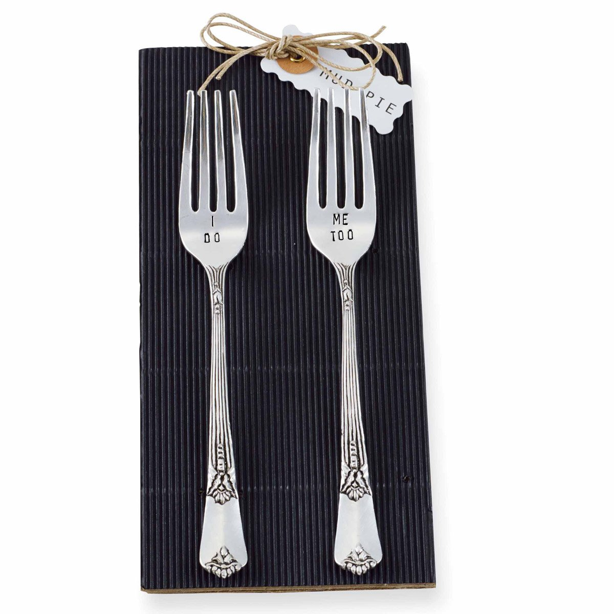 Mud Pie 4041002 Wedding Fork, Set of 2