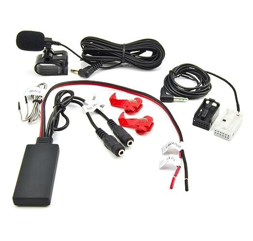 2 opinioni per Bluetooth AUX Adattatore BMW SERIE (E90/E91/E92) 5er (E60/E61) 6er (E63/E64)