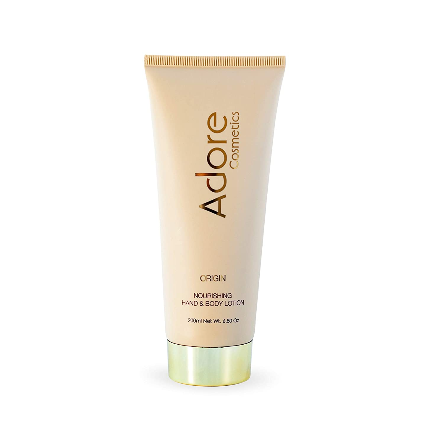 Adore Cosmetics   Nourishing Hand & Body Lotion - Origin - 6.8 Fl Oz   Anti Aging Luxury Lotion For Men and Women   With Shea Butter and Organic Plant Stem Cells For Skin Rejuvenation (1)