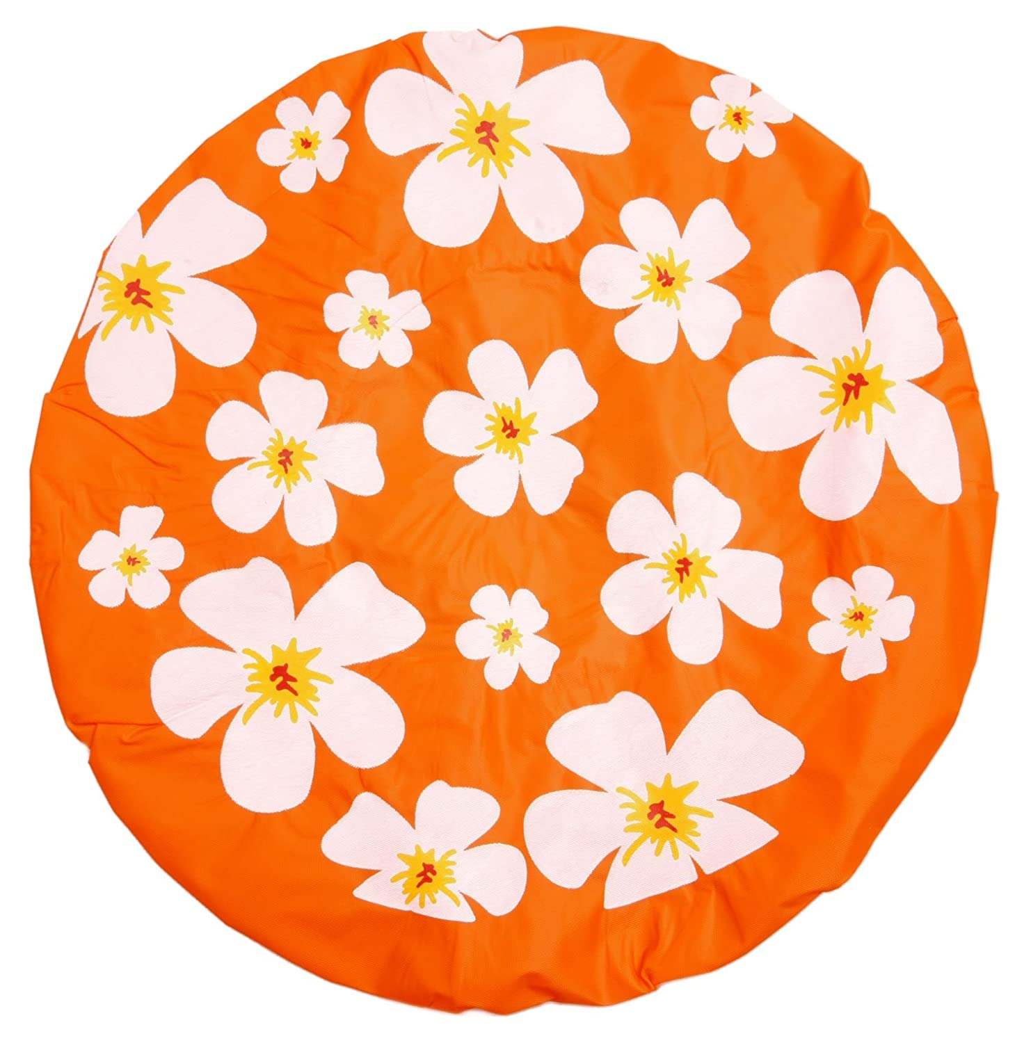 Orange Shower Cap Shower Cap – Floral Bestellmich.com