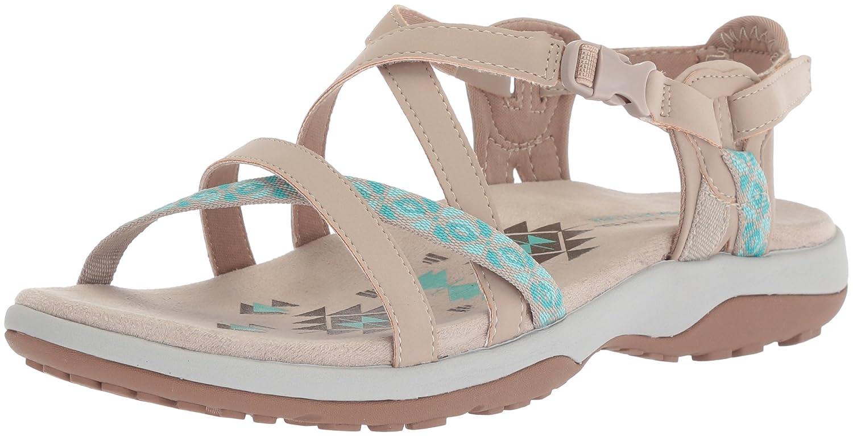 Skechers Women's Reggae Slim-Vacay Sandals B0756JNL8H 11 W US Taupe/Aqua