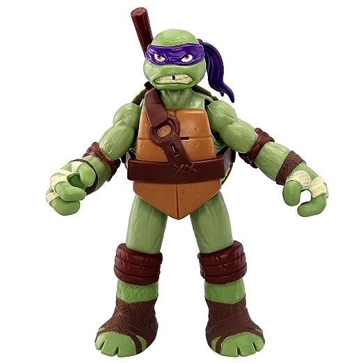 Teenage Mutant Ninja Turtles Powersound Fx - Figura de la Tortuga Ninja Donatello [Importado]