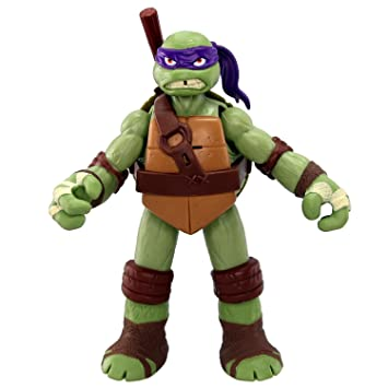 Teenage Mutant Ninja Turtles Powersound Fx - Figura de la Tortuga Ninja Donatello [Importado]