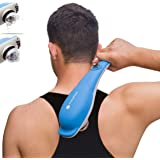 TheraFlow Handheld Deep Tissue Percussion Massager. Muscles, Back, Body, Neck, Foot, Shoulder, Scalp, Head. Trigger Point Pai