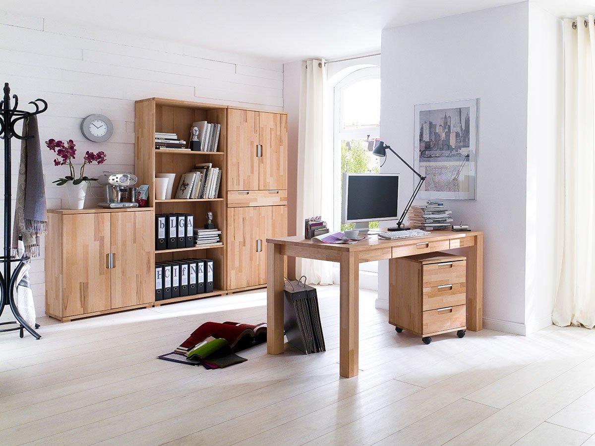 Büro-Set (5-teilig) Arbeitszimmer Office Komplett Büro Möbel ...