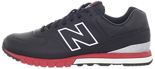 new balance 574 revlite black red