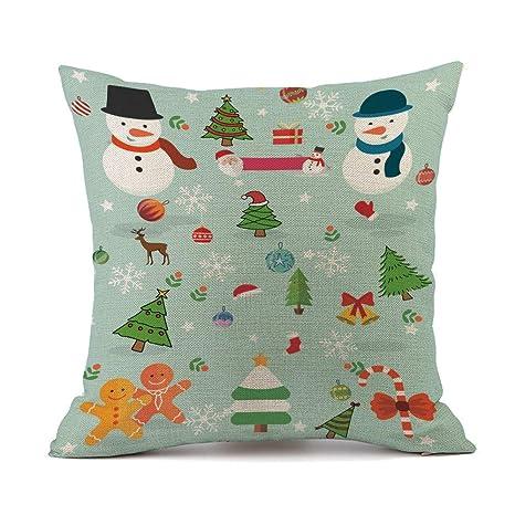 RWINDG_Kissenbezug rwindg Navidad sofá Cama decoración ...