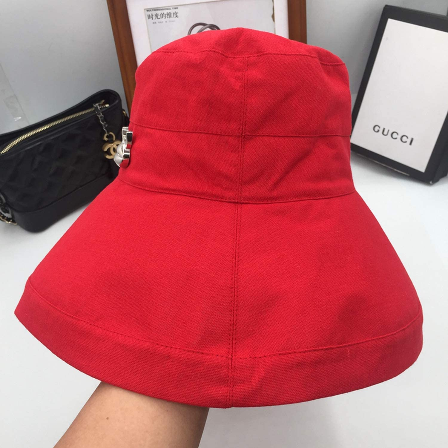 New Fisherman hat Girl is prevented bask in Show face Little Sun hat Summer Basin Cap hat Female Students