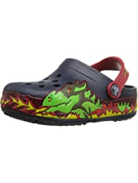 7faf72a51b1d67 Crocs Kids  Light-Up Fire Dragon Clog