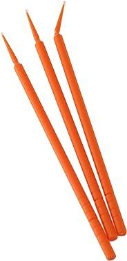 BeeSure BE502T Micro-Applicator Tips, Ultra-Fine Orange (Pack of 400)