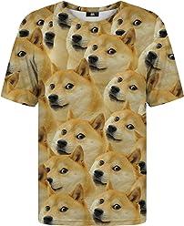 30630d6e234a56 MENS SWEATSHIRTS. Mr Gugu   Miss Go Woman Man Printed T-Shirt Doge