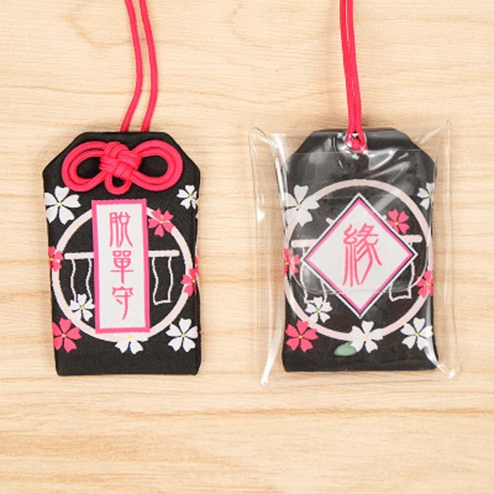 Black Temptation Estilo japon/és Bolsa de bendici/ón Bolso Accesorios Coche Colgante decoraci/ón #16