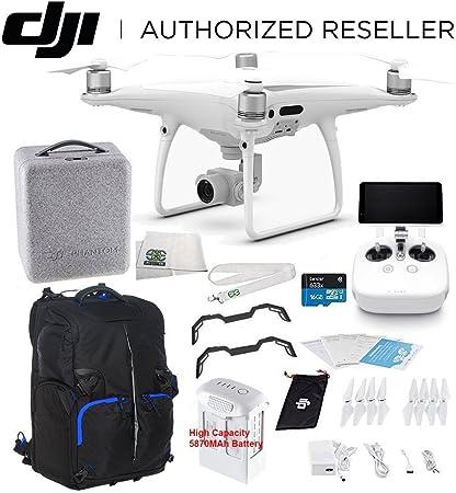 2a53433063e Amazon.com: DJI Phantom 4 PRO+ Plus Quadcopter Starter Kit Backpack ...