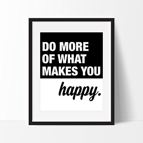 inspirational wall art for office.  Office Do More Of What Makes You Happy Art Print  Inspirational Wall Motivational  To For Office A