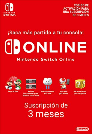 Nintendo Switch Online - 12 Meses | Nintendo Switch - Código de descarga: Amazon.es: Videojuegos