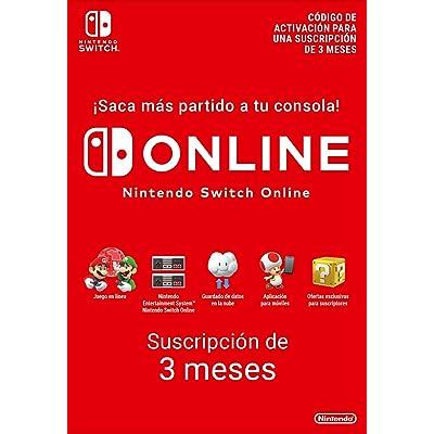 Nintendo Switch Online - 3 Meses | Nintendo Switch - Código de descarga