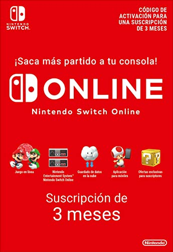 Nintendo Switch Online - 3 Meses | Nintendo Switch - Código ...