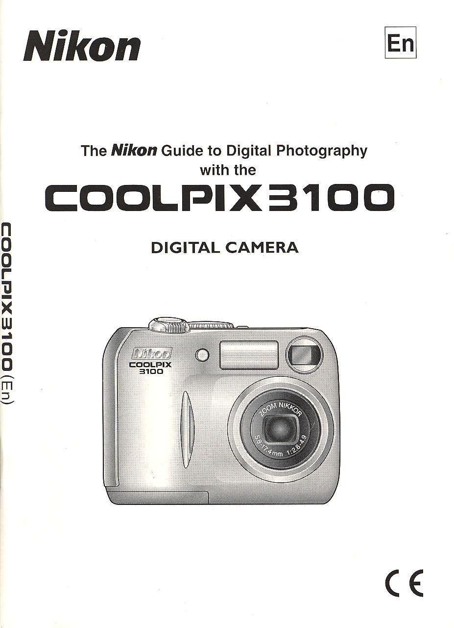 nikon coolpix 3100 digital camera original instruction manual rh amazon com nikon coolpix 3100 manual pdf nikon coolpix s3100 manual
