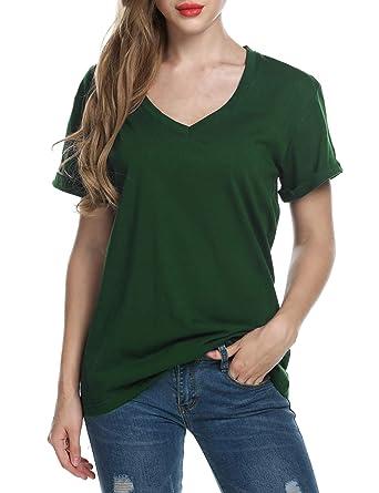 Meaneor Mujeres Camisetas T Shirt Manga Corta Labios Túnica Casual Blusas Camisas Tops: Amazon.es: Ropa y accesorios