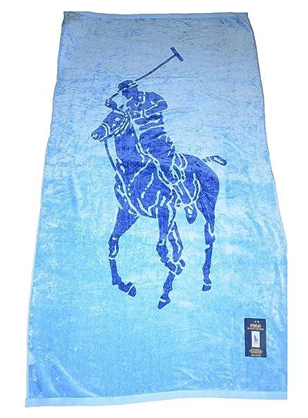 Polo Ralph Lauren - Toalla de Playa (algodón, 83 x 167 cm), diseño ...