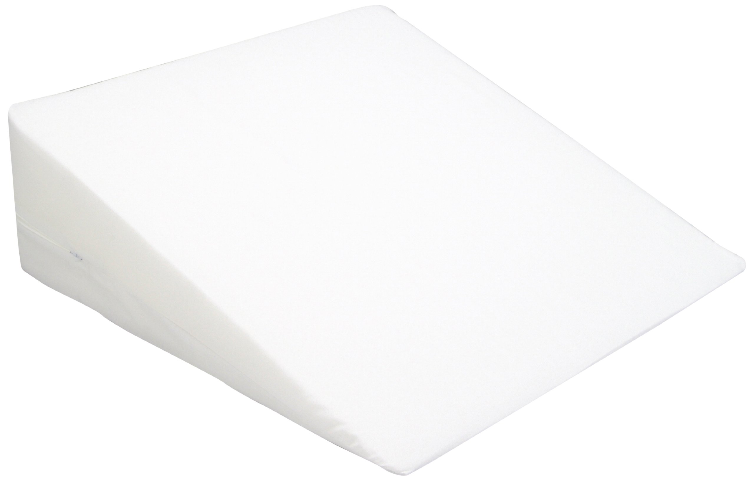 Hermell Products 10-Inch Bed Wedge with White Cover