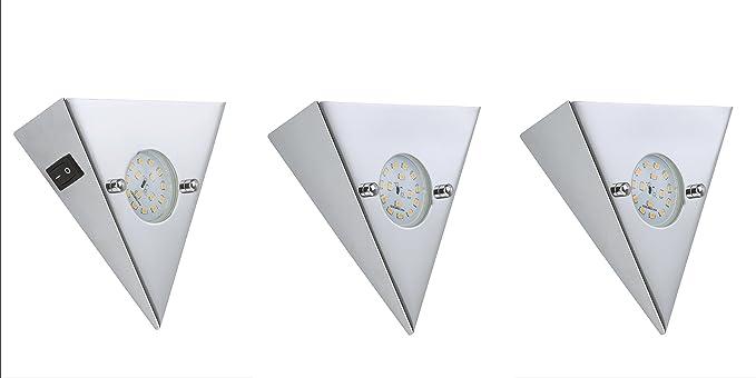 Moderne Lampen 5 : Briloner leuchten led light for 3 x 5 w 400 lm chrome 7218 038