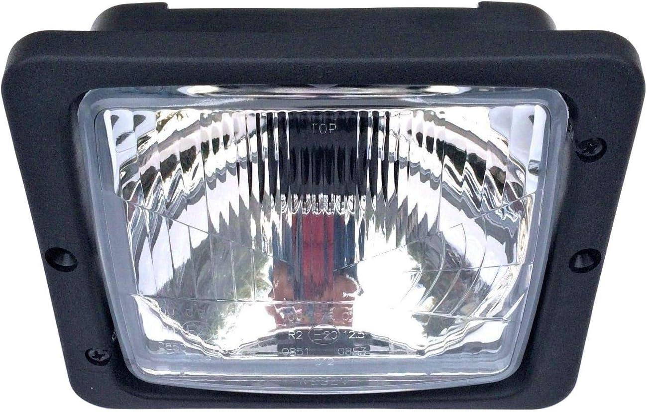 2x Scheinwerfer Fernlicht Abblendlicht H4 172x142 Traktor Zetor Atlas Fendt Ihc Auto