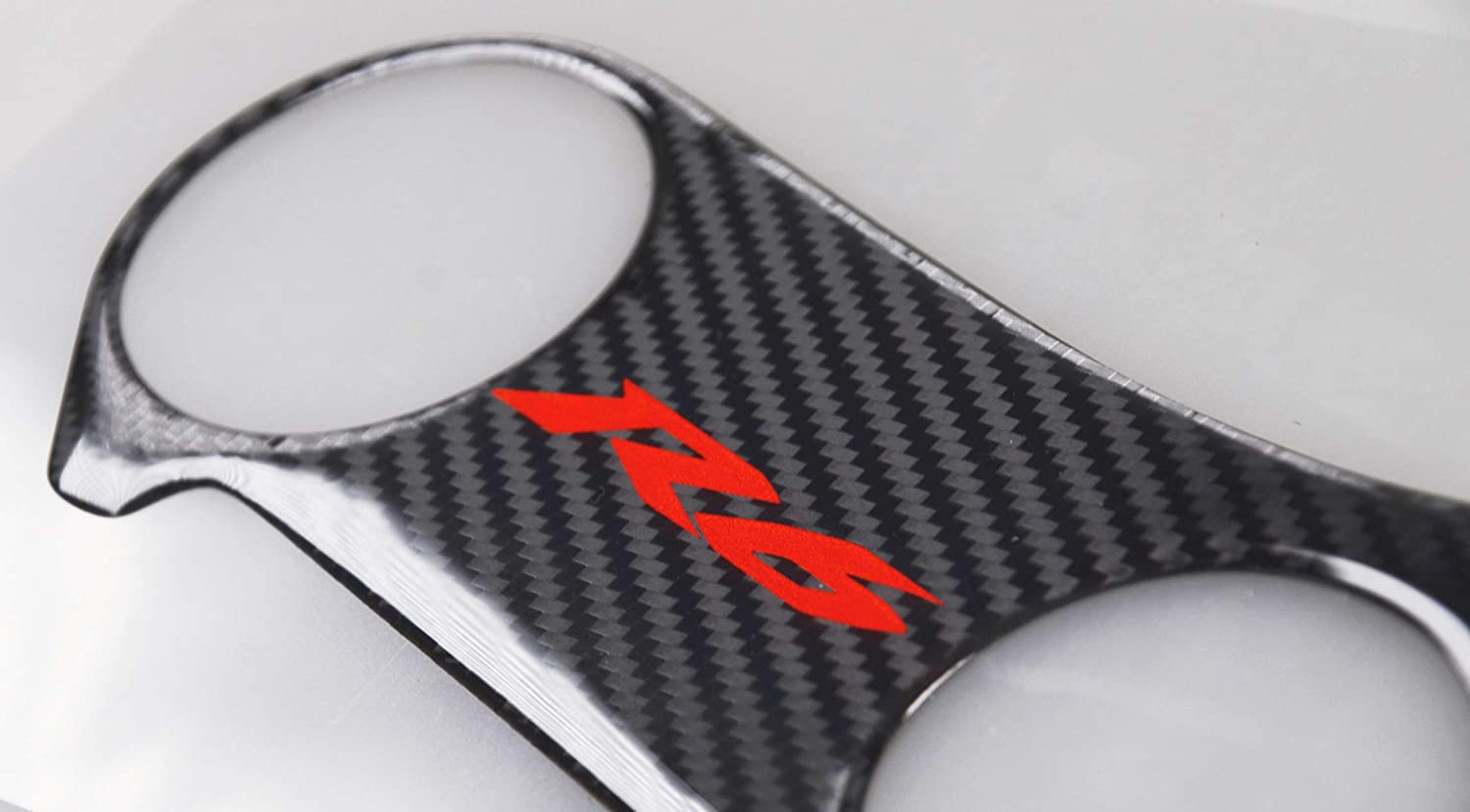 Triple Tree Front End Upper REVSOSTAR Real Carbon Fibre Gas Cap Tank Pad 4 Pcs Per Set Top Clamp Decal Stickers Tank Protector for Yzf R6 Anti Slip sticker