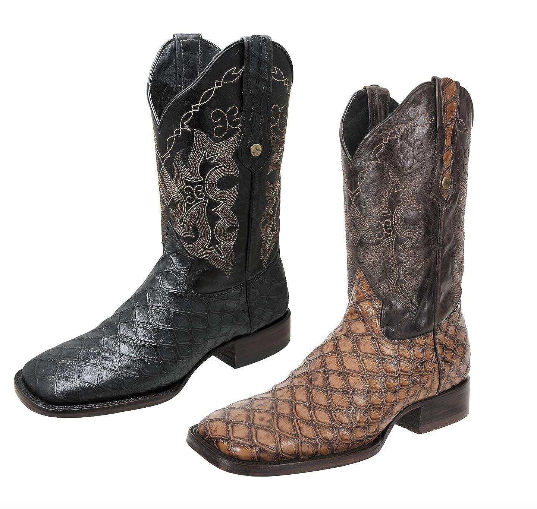 pero no vulgar diseñador de moda disfruta el precio más bajo Amazon.com | Men's Western Boot/Botas de Hombre (OSO ...