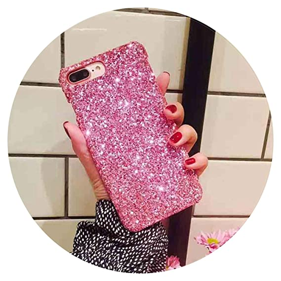 Amazon.com: Bling Glitter for iPhone 6S 7Plus Original Hard ...