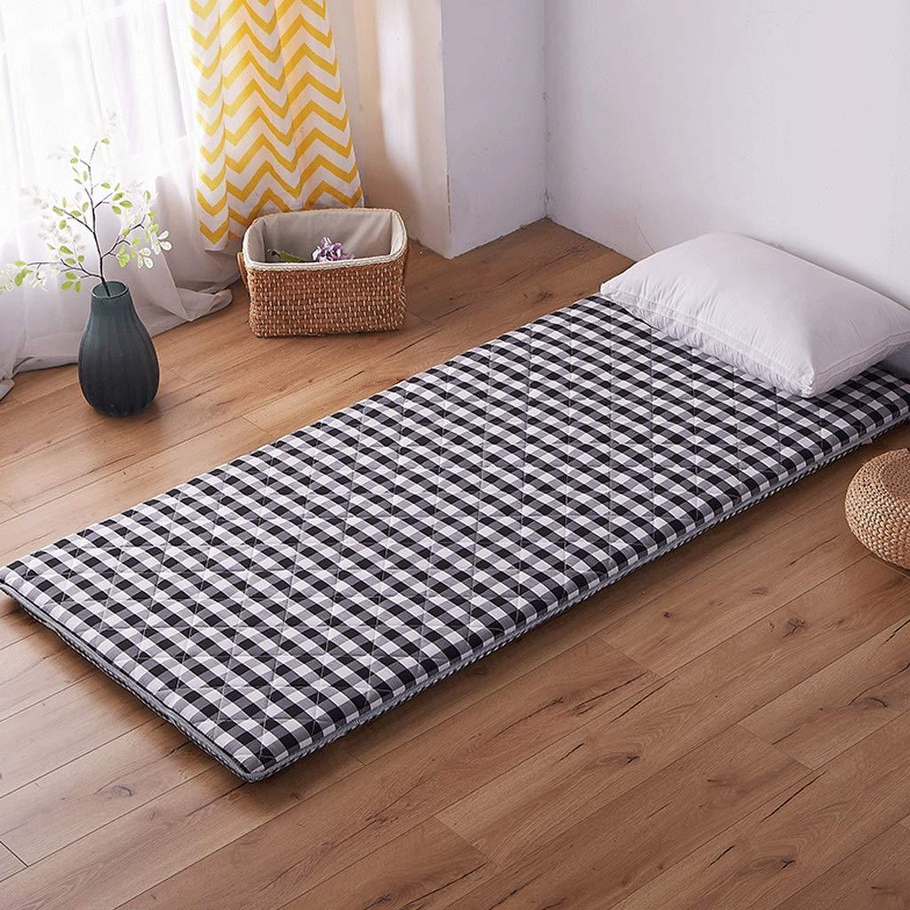 LJ Colchoneta Tatami Gruesa, de múltiples Funciones, Cama Caliente, Dormitorio Doble, colchoneta para Dormir, Dormitorio Individual, Estera (Color : Red, ...