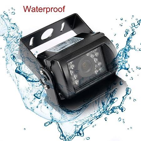 71Pu04ot42L._SY450_ amazon com backup camera truck geri waterproof 12v 24v hd ccd  at fashall.co