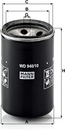 Original Mann Filter Ölfilter Wd 940 10 Hydraulikfilter Für Nutzfahrzeuge Auto