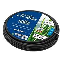 Aqua Control C4020E–Pack de 5micro-tuyaux pour goutte à goutte, 4mm, couleur noire