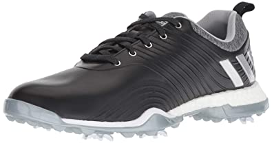 los angeles 099e6 a204e adidas Womens Adipower 4ORGED Golf Shoe core BlackSilver MetallicClear  Onix 5 M