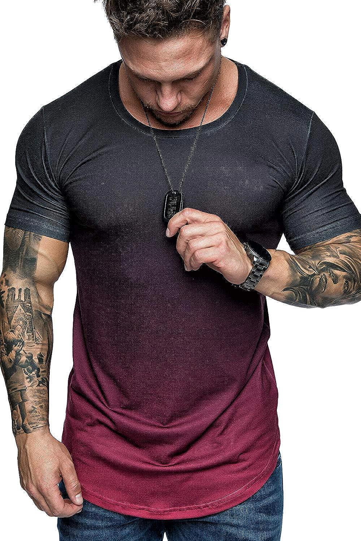 Mens Hipster Hip Hop Graffiti 3D Print T-Shirt Shirts Casual Tops Short Sleeve Blouse Tees