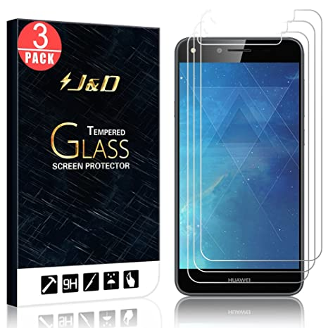 JD Compatible para 3 Paquetes Huawei Y6 II Compact Protector ...