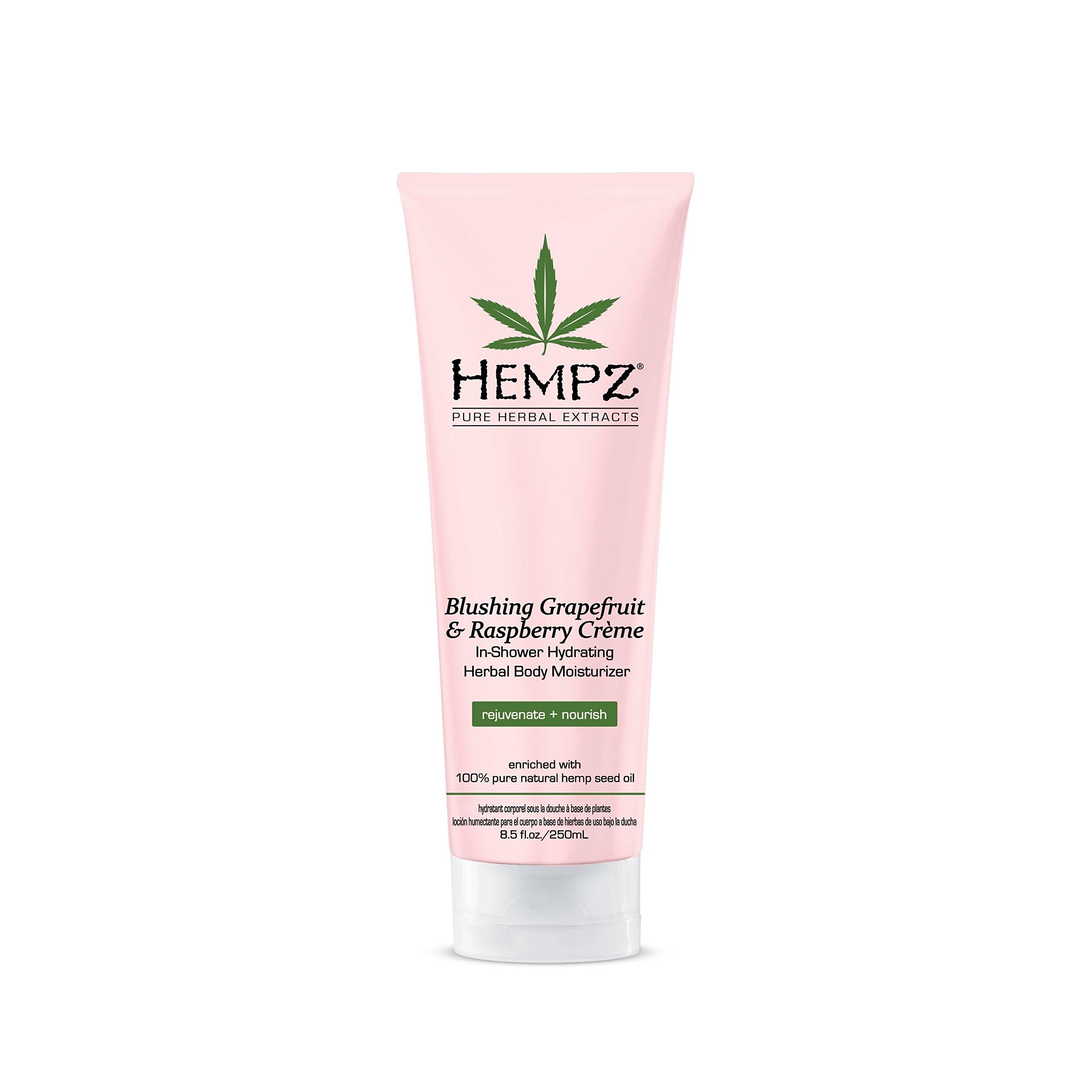Hempz In-Shower Hydrating Herbal Body Moisturizer Light Pink Blushing Grapefr.. 4