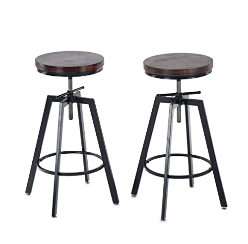 Painted bar stool counter stool wood distressed color s 25 -28 -30 high