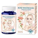 MIRI Rose Whitening, skin whitening pills with Rose, Orichid, Pomegranate, L-Cysteine,Mulberry Leaf