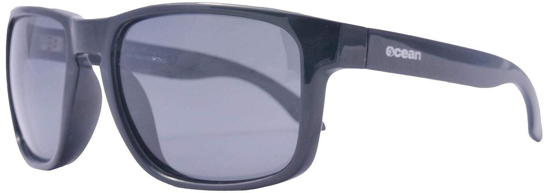 Ocean Sunglasses Blue Moon - lunettes de soleil polarisées - Monture : Noir Mat - Verres : Fumée (19202.8) xqSK9WL6R