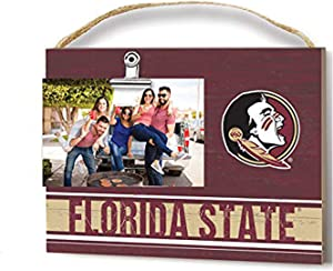 KH Sports Fan Team Colore Florida State Seminoles Clip Logo Photo Frame