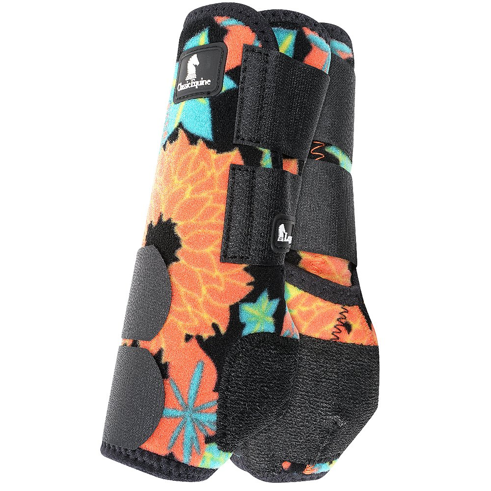 CORAL TROPICS CLASSIC EQUINE FRONT LEGACY SYSTEM SPORTS HORSE LEG BOOTS L/M/S