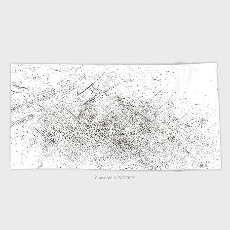 27,5 W x 11.8L pulgadas Custom salpicaduras de algodón de microfibra Ultra suave