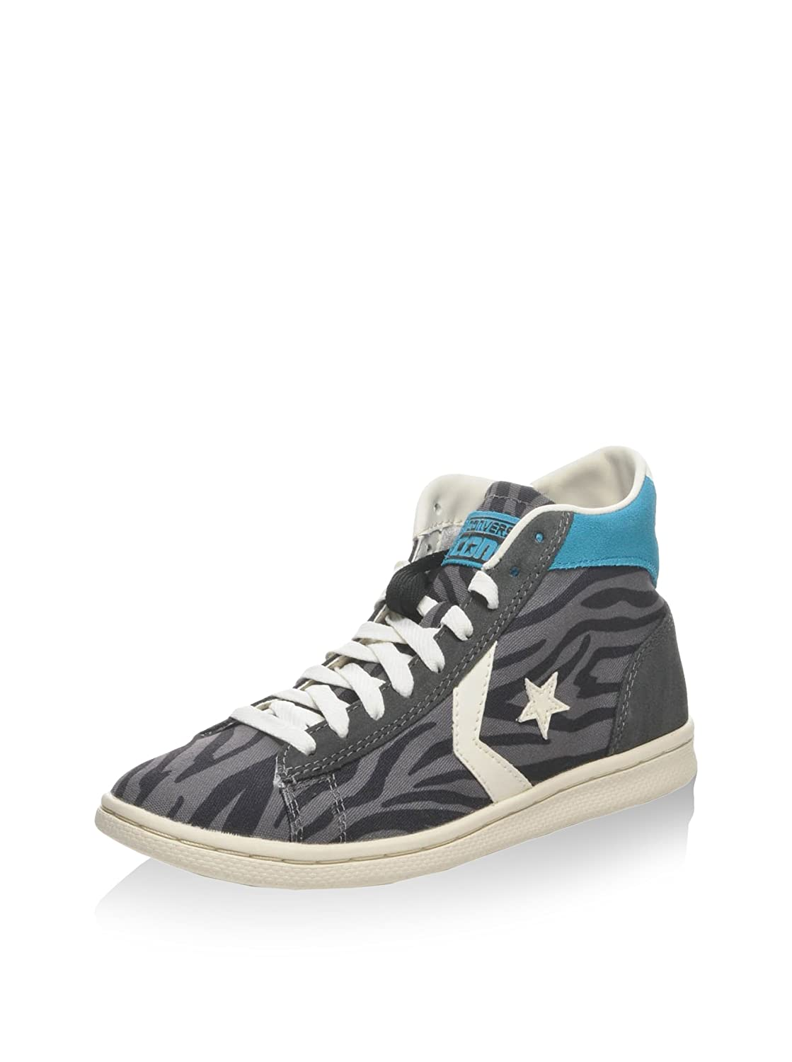 Converse Hightop Sneaker Pro LP Mid Can Zip PRI Grau/Carbon EU 36.5 nob4Ip