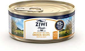 ZIWI Peak Wet Cat Food - Natural High Protein, Grain Free, Limited Ingredient Recipes