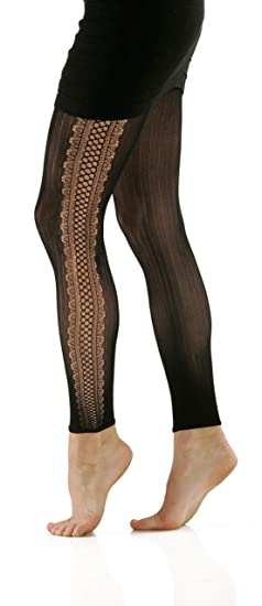 984f74e70 Image Unavailable. Image not available for. Color  Foot Traffic - Footless  Tights